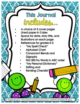 A Writer's Best Friend: Writing Journal with Helpful Resources