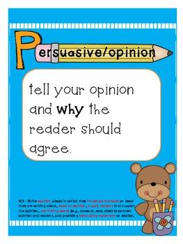 A Writer's PEN (Persuasive, Explanatory, Narrative)