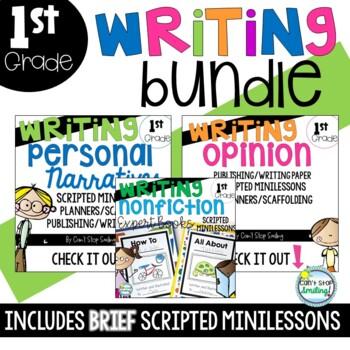 Writing Bundle ~ Kindergarten and Grade 1