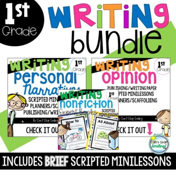 Writing Bundle ~ Kindergarten and Grade 1