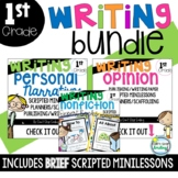 Writing Bundle ~ 1st Grade Writing Units with Minilessons