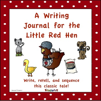 A Writing Journal for the Little Red Hen