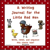 Little Red Hen - A Writing Journal