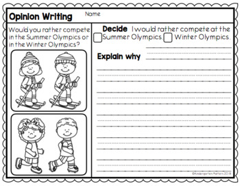A Writing Pack for the Olympics.