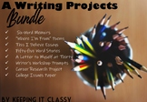 A Writing Project Bundle--Prezis, Rubrics, Handouts, and T