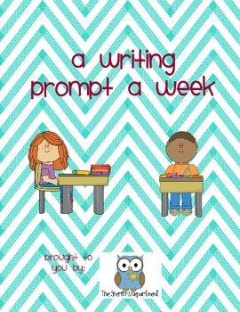 A Writing Prompt A Week