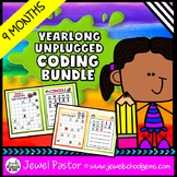 Distance Learning Unplugged Coding Activities BUNDLE with