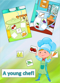 FRUIT&VEBETABLES. A GAME FOR LITTLE COOKS. AUTUMN GAME.