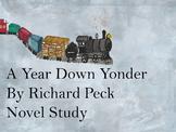 A Year Down Yonder Novel Study