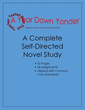 A Year Down Yonder: A Complete Novel Study