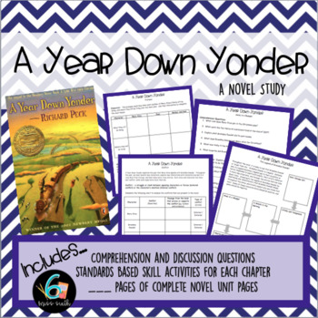 A Year Down Yonder - Novel Study