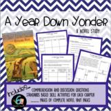 A Year Down Yonder - Novel Study
