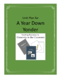 A Year Down Yonder Novel Unit Plus Grammar