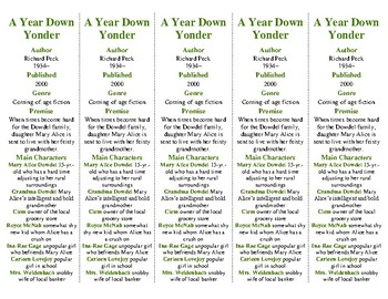 A Year Down Yonder edition of Bookmarks Plus—Fun Freebie & Handy Reading Aid!
