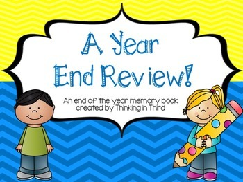 A Year End Review Memory Book