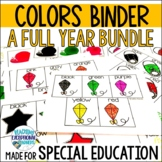 A Year Full of Colors for Special Education