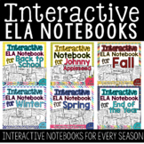 A Year Full of ELA Interactive Notebooks