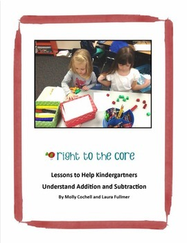 A Year Full of Kindergarten Lessons for Understanding Addition and Subtraction