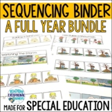 Sequencing Binder for Special Education