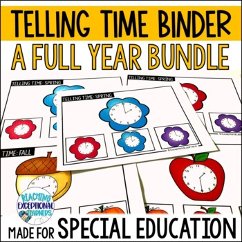 A Year Full of Telling Time for Special Education