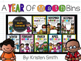 A Year Of Math Bins- Over 170 Common Core Aligned Math Centers