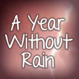 A Year Without Rain Font: Personal Use