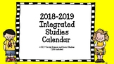 Thematic Units for 2nd grade (year long calendar)