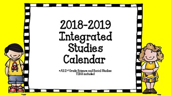 Thematic Units for 1-3rd grade (year long calendar)