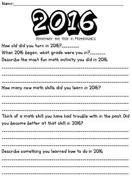 A Year in Math