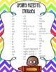 1st Grade Spelling & Journal Homework {with editable template!} for the Year