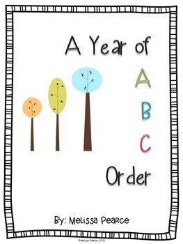A Year of ABC Order