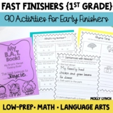 Fast Finisher Activities for the YEAR | Early Finisher Act