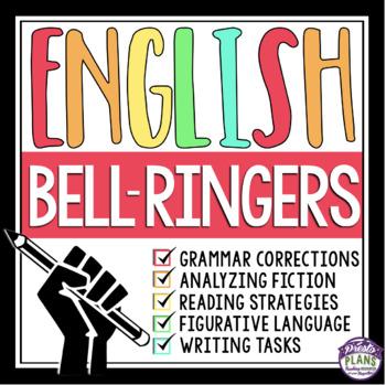 ENGLISH BELL RINGERS: GRAMMAR, READING, WRITING, & SPEAKING