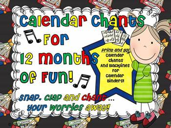 A Year of Calendar Chants!