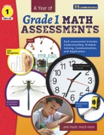 A Year of Canadian Grade 1 Math Assessment