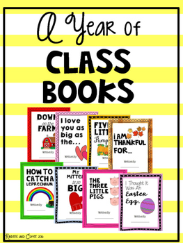 A Year of Class Created Books