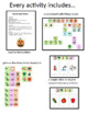 A Year of Core: Activity Based Instruction Lessons - FALL Bundle *Boardmaker*