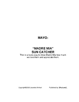 A Year of Crafty Compositions: MAYO