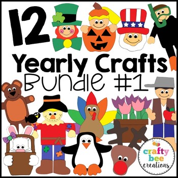 """A Year of Cut and Paste Projects"" Bundle"