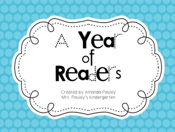 A Year of Emergent Readers