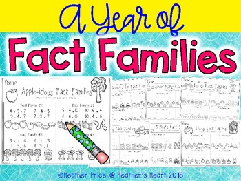 A Year of Fact Families