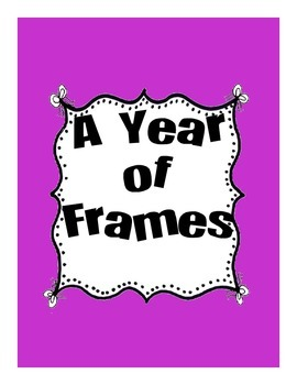 A Year of Frames