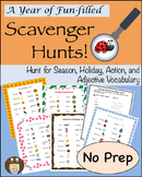 A Year of Fun-Filled Scavenger Hunts!
