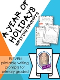 A Year of Holidays Writing Prompt Bundle!