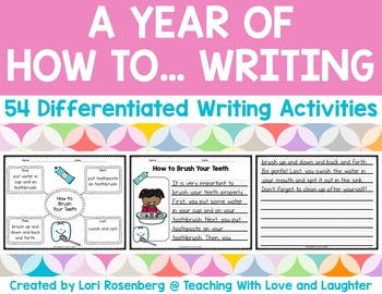 How To Writing for the Year!