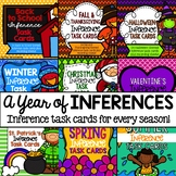 A Year of Inferences: Inference Task Cards for Every Seaso