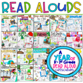 A Year Interactive Read-Aloud Lesson Plans Curriculum Bundle K-1