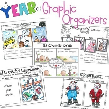 A Year Interactive Read-Aloud Lesson Plans Curriculum Bundle K-1