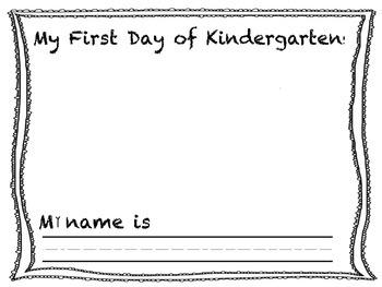 A Year of Kindergarten Writing
