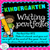 A Year of Kindergarten Writing Journal {portfolio}